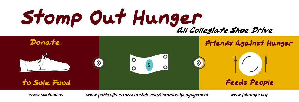 Only one more week for Stomp Out Hunger!