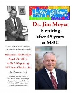 Jim Moyer Retirement Reception