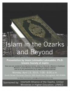 Islam Presentation Flyer