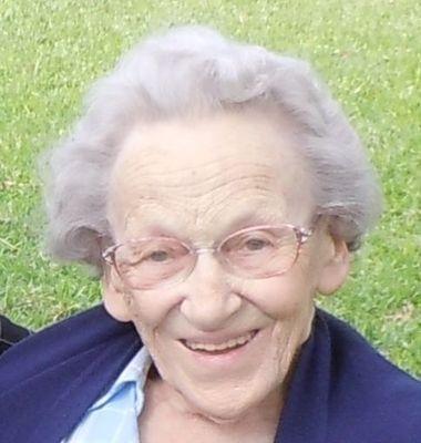 Mrs. Elisabeth tenZythoff, 1923-2015