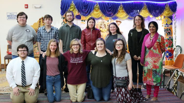 Religious Studies Club Visits Congregations, Museums in Tulsa, OK