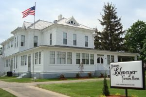 photo of the Lohmeyer Funeral Home in Springfield