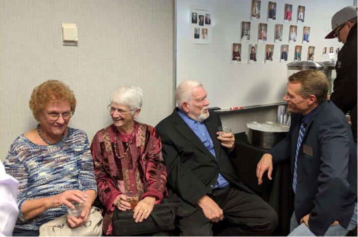 Bobbi Moyer, Ruth and Stan Burgess, Matt Kuiper