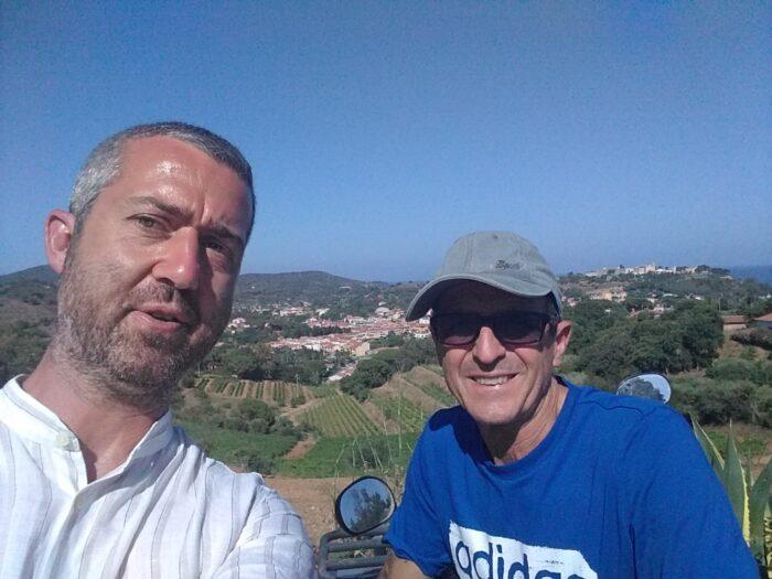 photo of Dr. Vadim Putzu and Mr. Antonio Arrighi