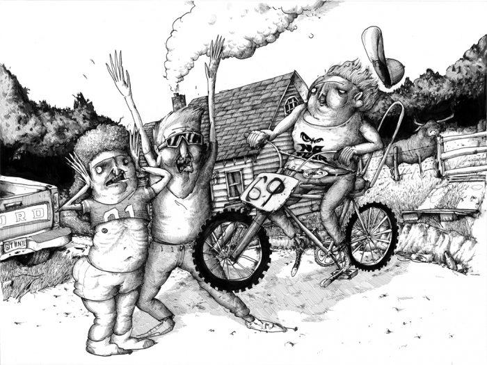Artwork by Judge Bockman