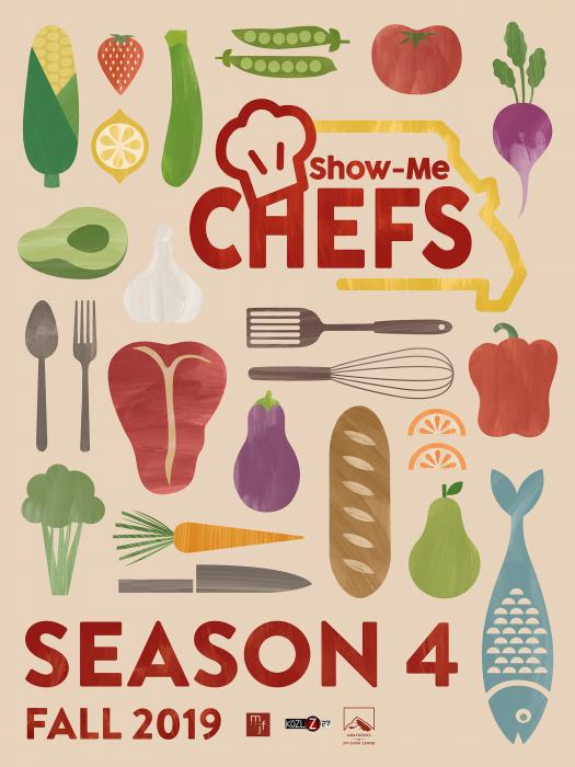 show me chefs season four poster design msu bfa design show