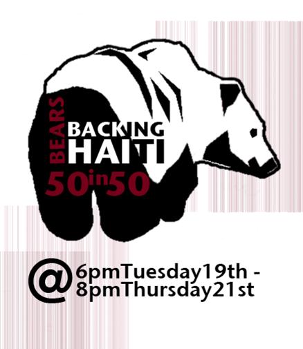Bears Backing Haiti: 50 in 50