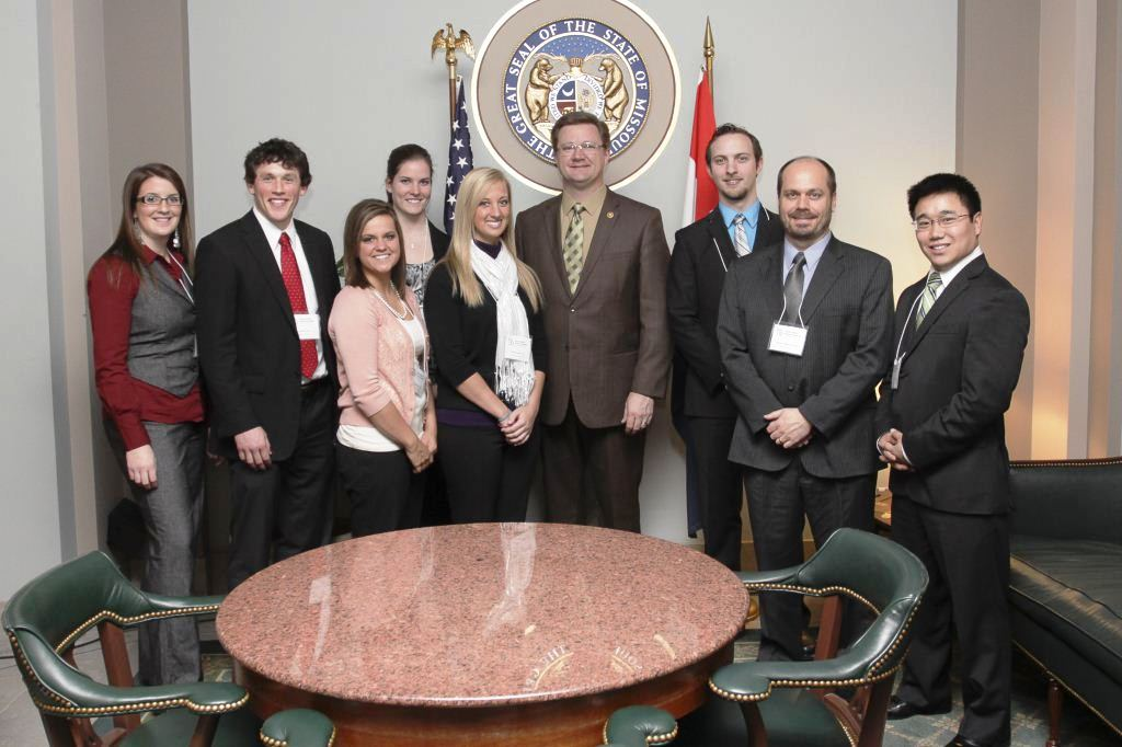 4th Year Students Travel to Jefferson City