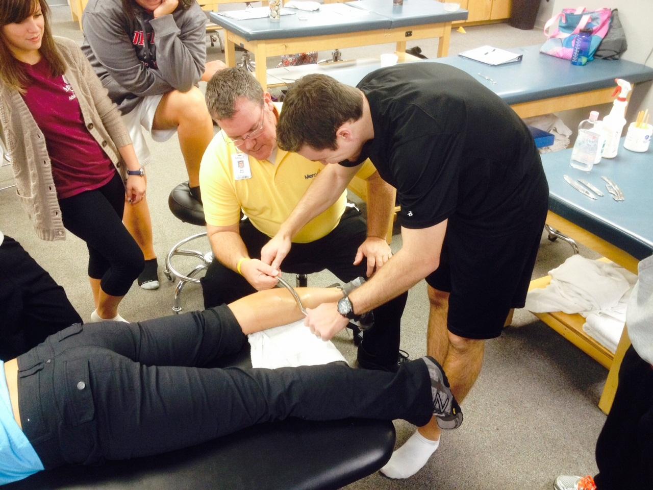 Graston Soft Tissue Massage Technique