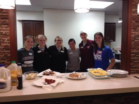 ATSA Volunteers at Ronald McDonald House
