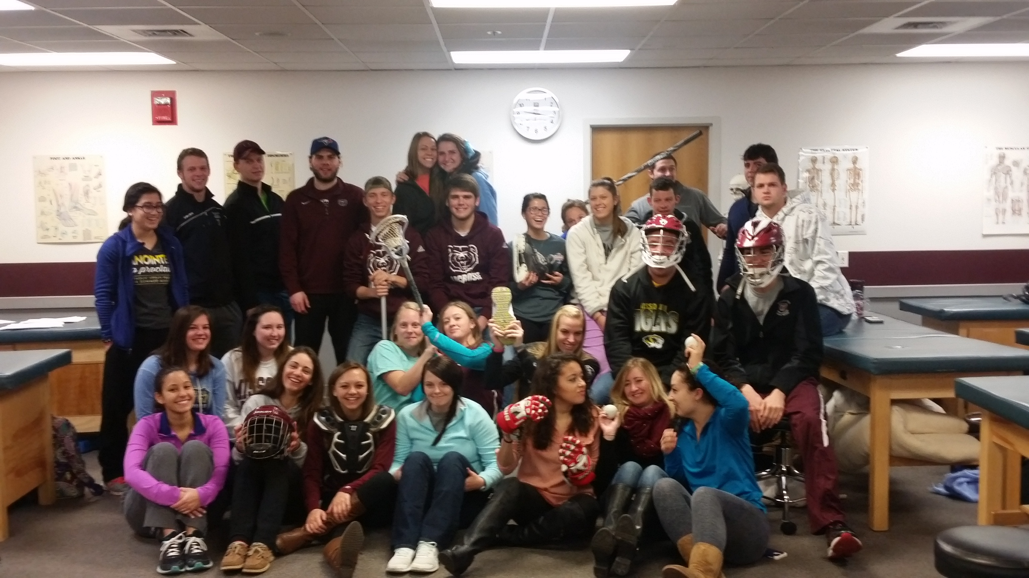 Lacrosse and Hockey Equipment Day in ATC 241