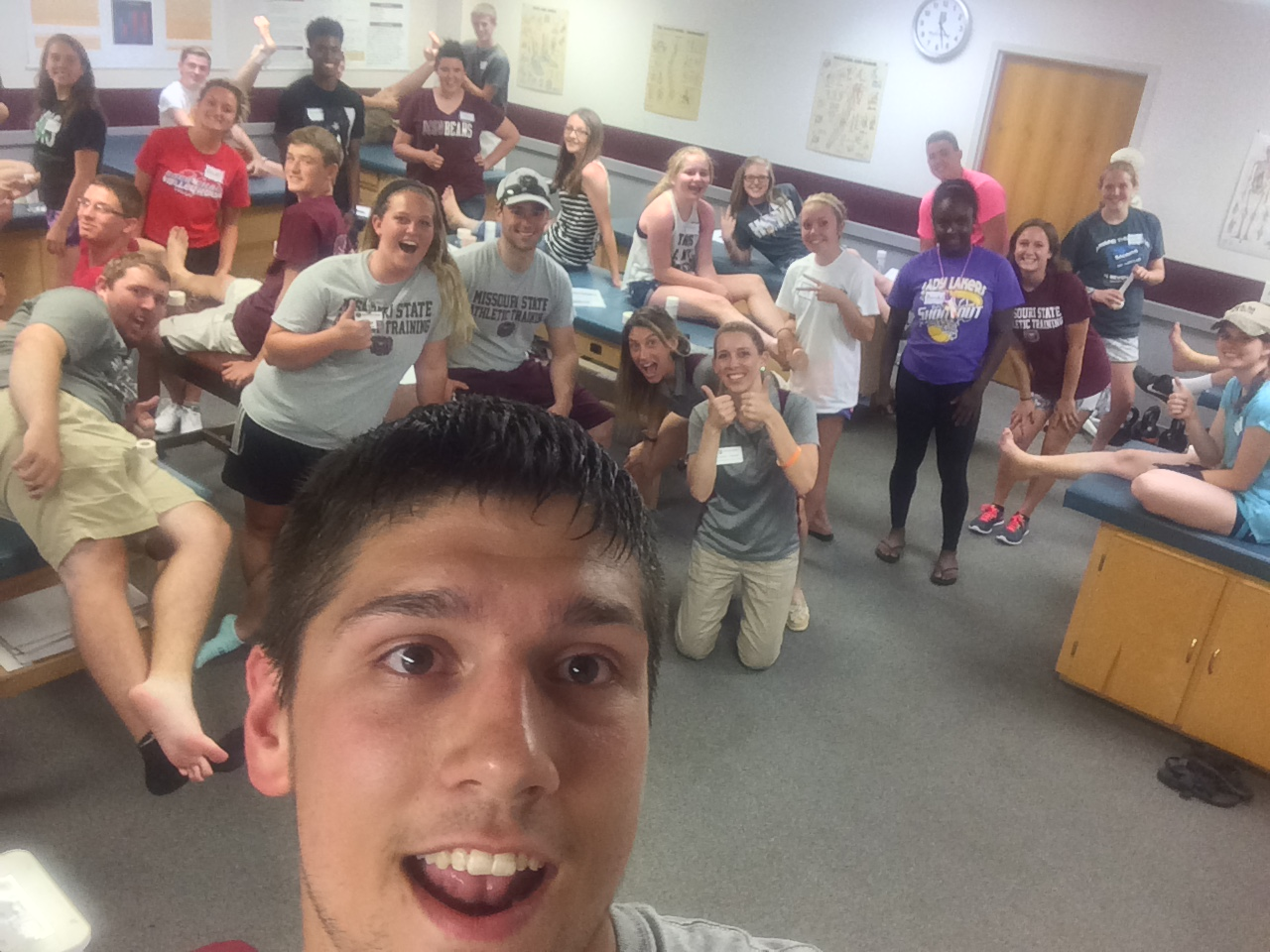 2015 High School Athletic Training Camp