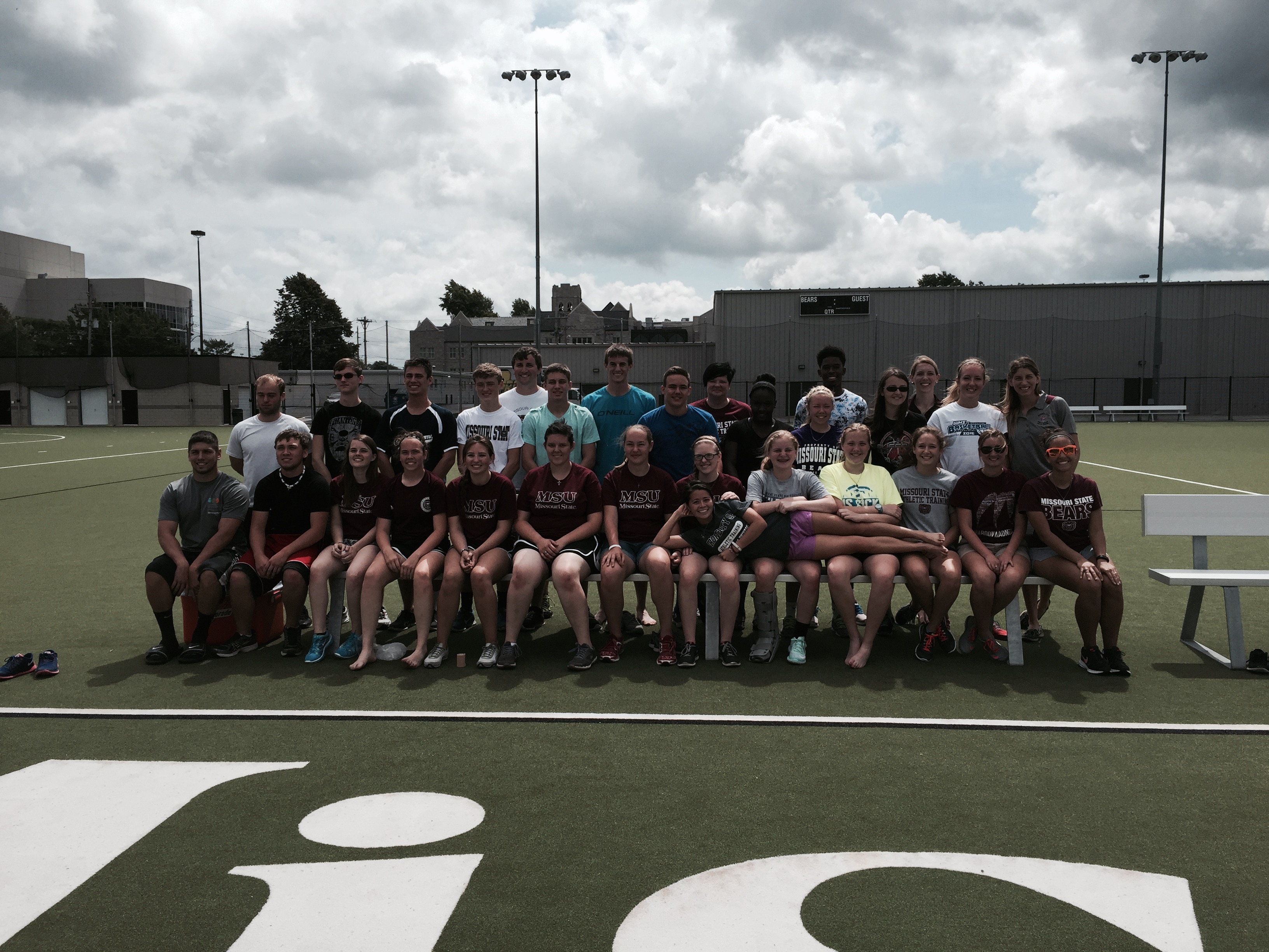 Successful 2015 High School Athletic Training Camp