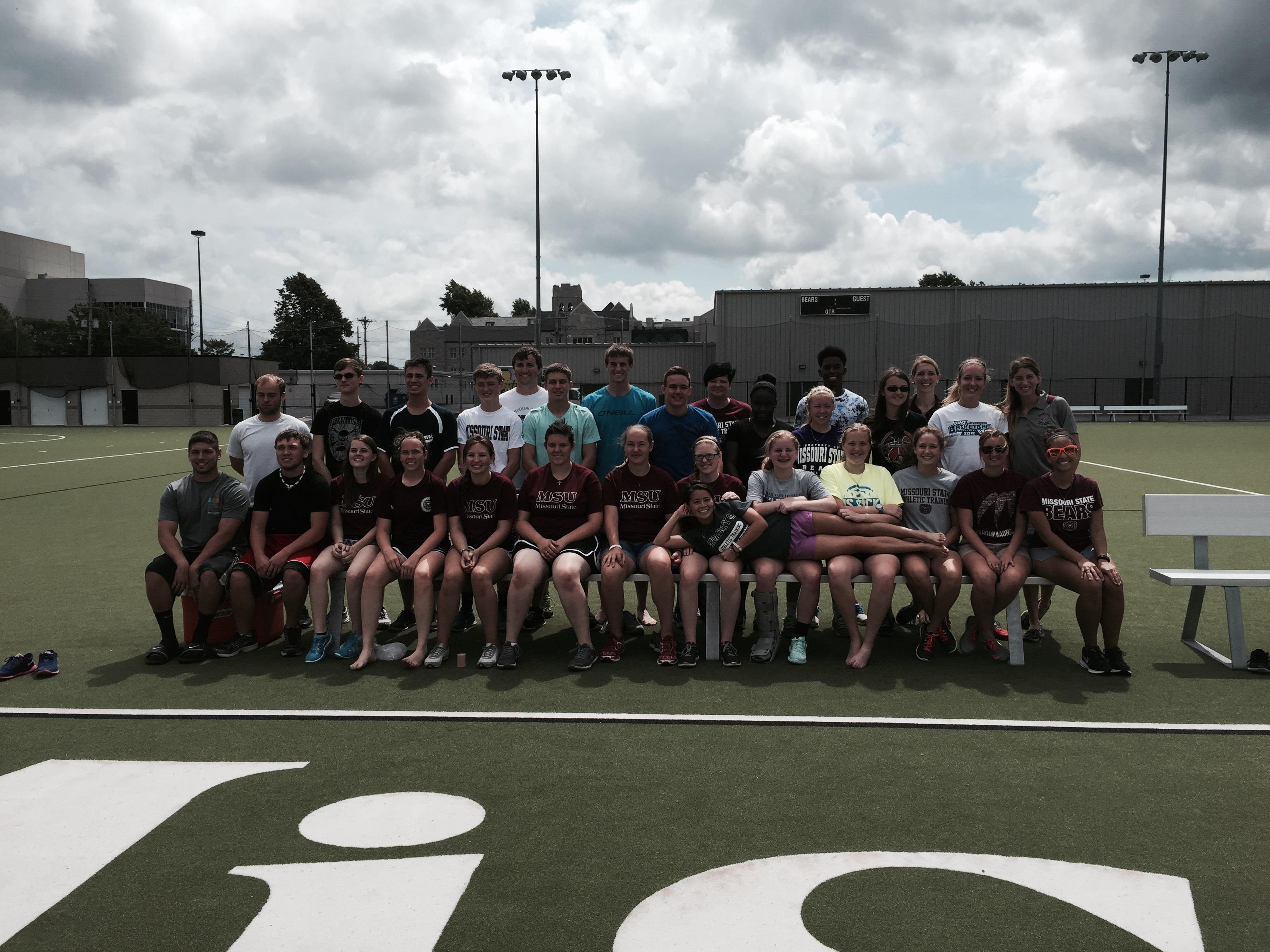 Successful 2015 High School Athletic Training Camp