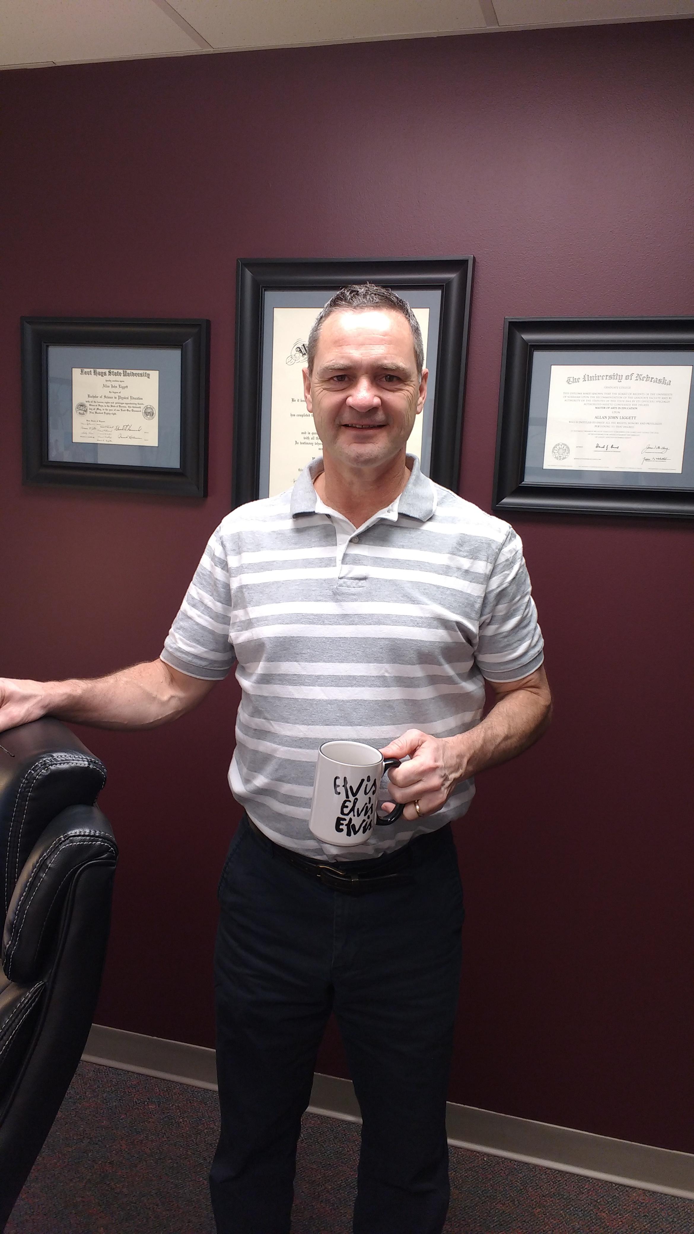 Congratulations Dr. Allan Liggett!