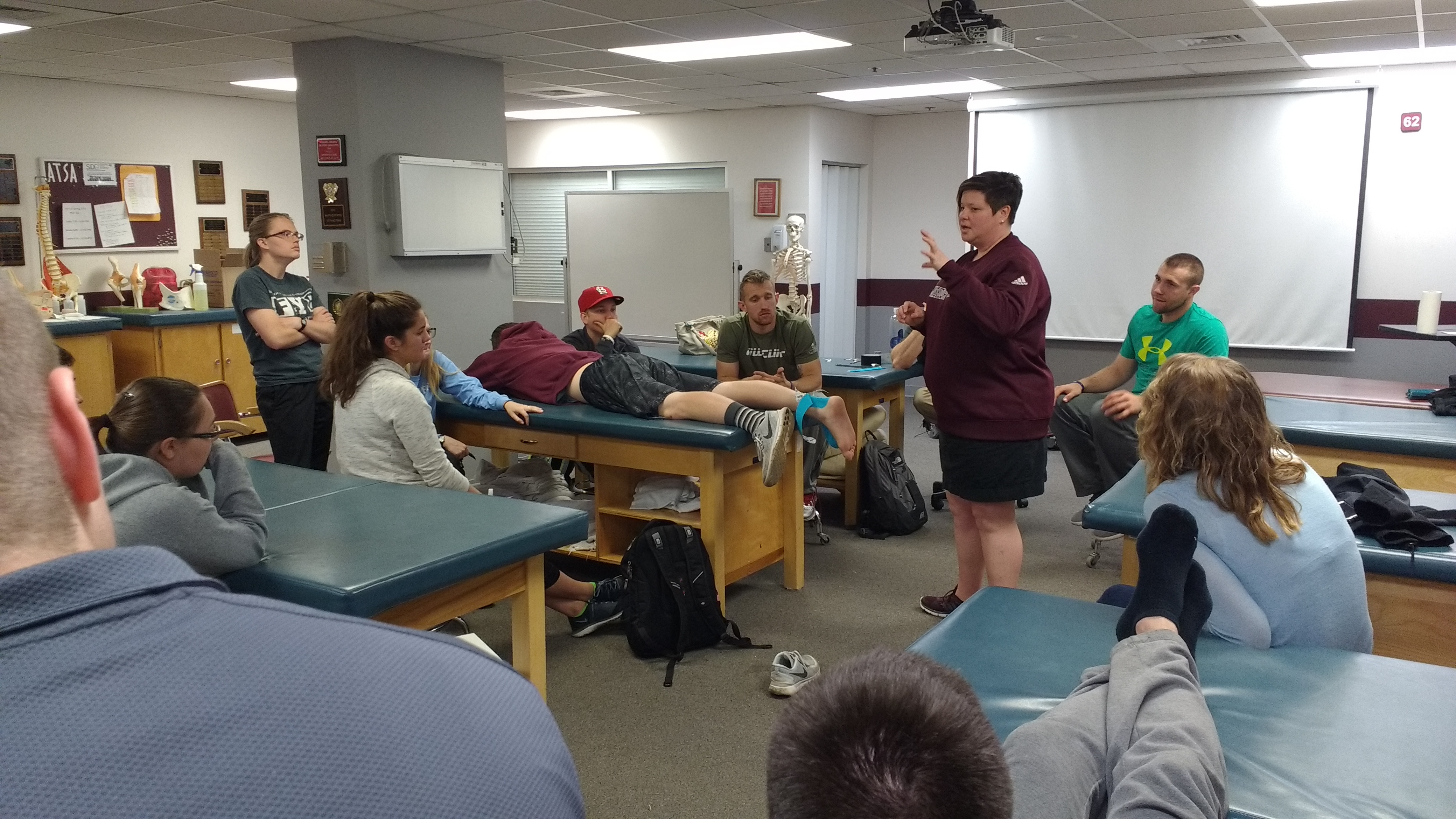 Shannon Derricks Presents to ATC 241