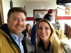 There is more to these two than being statistical research nerds...Here is a selfie of Todd and Kristin taken on set of The Weight, a feature film movie.
