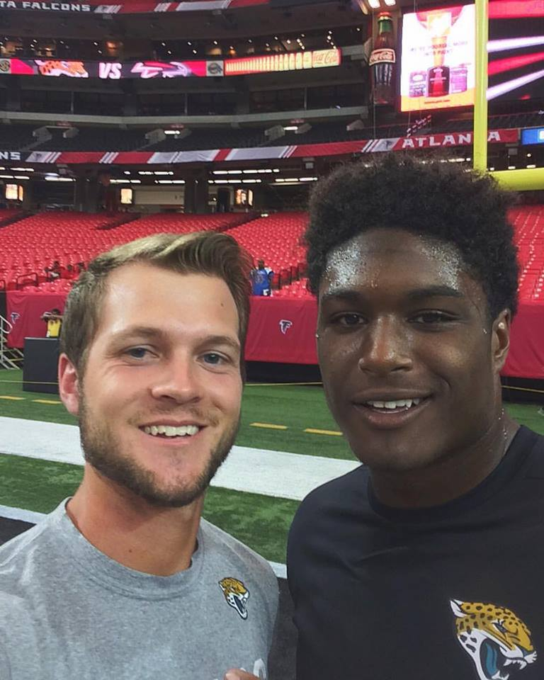 AT Student Jacob Briggs Interns with the Jacksonville Jaguars!