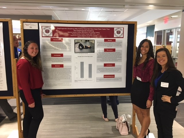 Professional AT Program Students Present Research