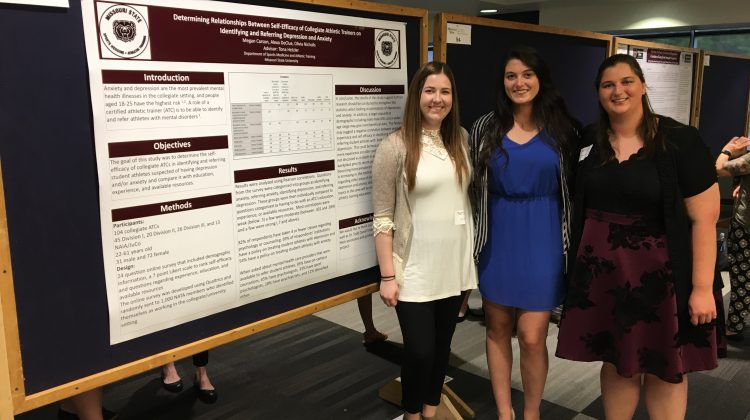 BSAT Student Research Groups Present at CHHS Symposium
