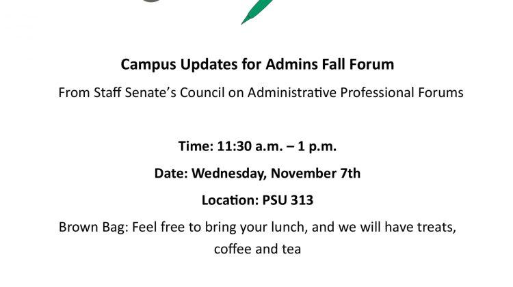 Fall Administrative Professional Forum
