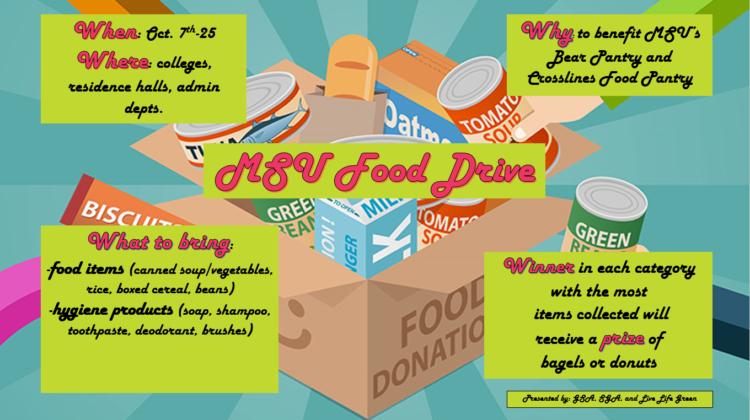 MSU Food Drive