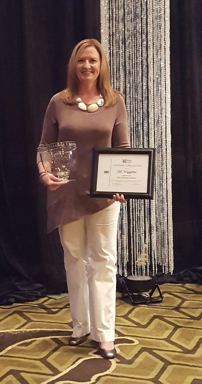 Career Center Director, Jill Wiggins, Wins LEAD Award