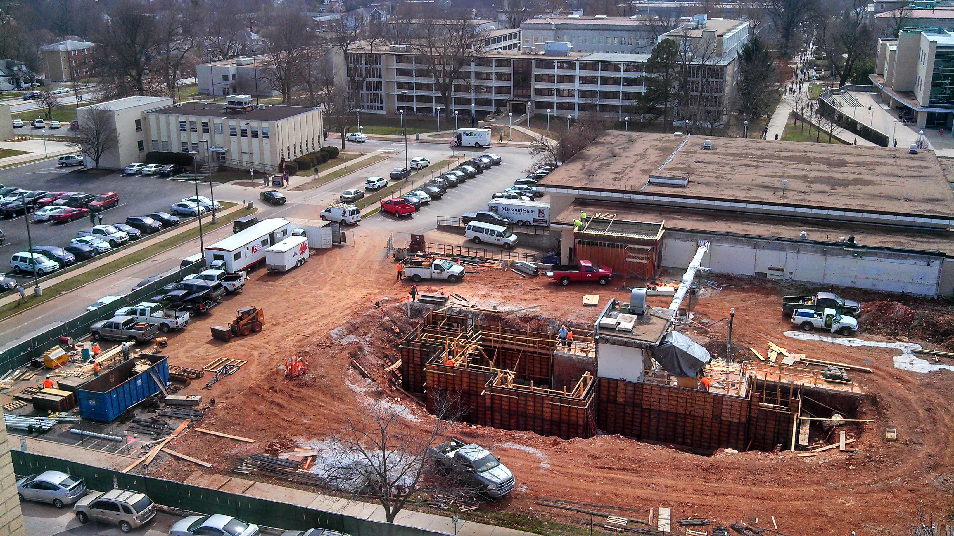 Construction of New Health and Wellness Center