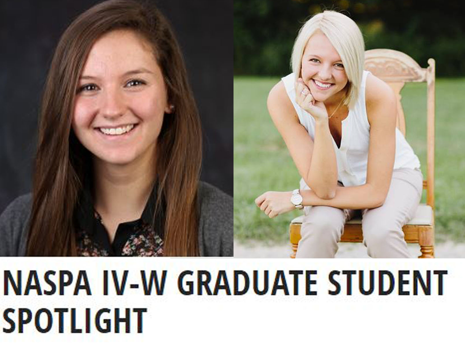 SAHE Students Highlighted in NASPA Newsletter