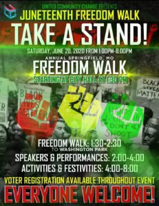 Juneteenth Take a Stand Freedom Walk