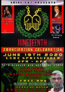 Juneteenth Celebration in Springfield
