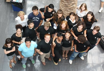 The Group in ESC Rennes T-Shirt