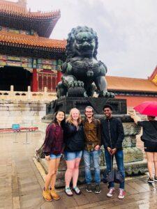 Figure 1: MSU students in Beijing, China
