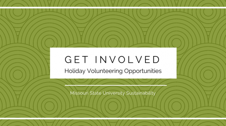 Get Involved! Holiday Volunteering Opportunities
