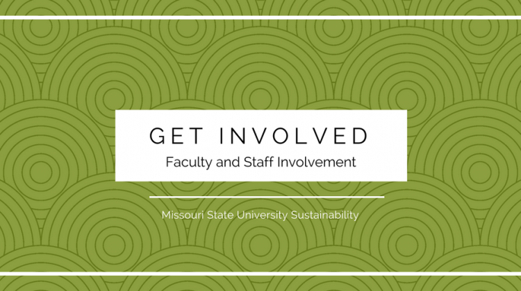 Get Involved! Faculty and Staff Involvement