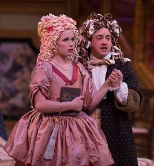 Tartuffe costumes wigs