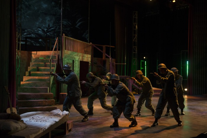 Photos from the Missouri State University Theatre and Dance department's production of Dogfight. Photos taken on October 9, 2015.