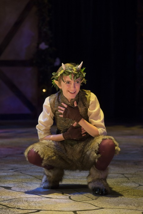Missouri State University Department of Theatre and Dance's production of Shakespeare's A Midsummer Night's Dream, directed by Sarah J. Wiggin, ran from November 12-15, 2015 in Coger Theater.