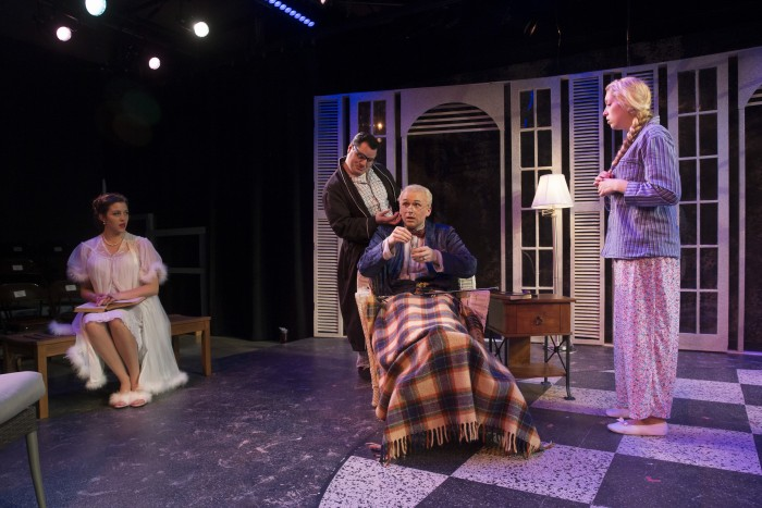 MSU Theatre & Dance department's production of Uncle Vanya, Anton Chekhov's 1897 comedy. Taken during production photo call on Sunday, February 21, 2016