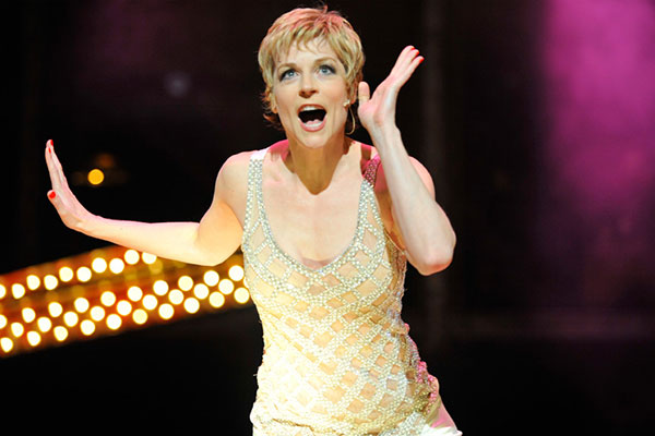 """Lisa Brescia in """"Cabaret"""" with the Playmakers Repertory Theatre"""