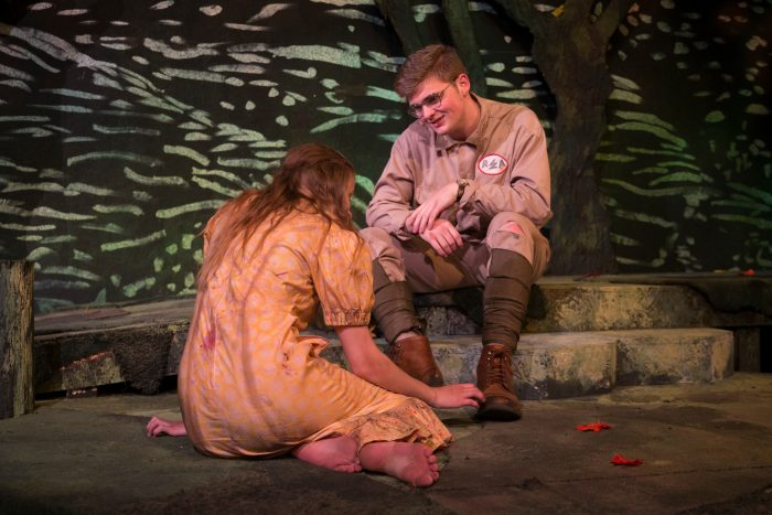 MSU Theatre and Dance's production of Ballad Hunter.  Photo taken Friday, September 23, 2016.