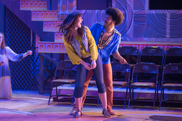 "Darian Bengston was part of the ensemble for MSU's 2016 production of ""Hair."" Photo by Jesse Scheve, MSU Photo Services."