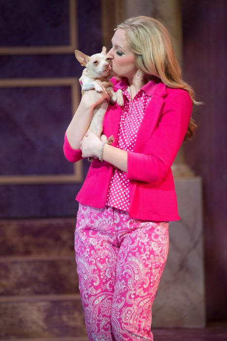 MSU Theatre and Dance's Production of Legally Blonde: The Musical.  Photo taken Sunday, October 16, 2016.