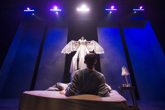 MSU Theatre and Dance's production of Angels in America, Part 1: Millennium Approaches.  Photo taken Friday, November 11, 2016.