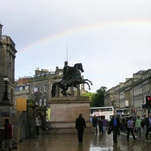 Duke of Wellington Statue in Edinburgh