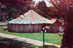 The First Tent Theatre Tent