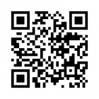 QR code for the campus visit evaluation form
