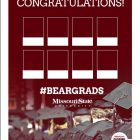 Customizable graduation poster