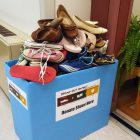 Stomp Out Hunger collection bin