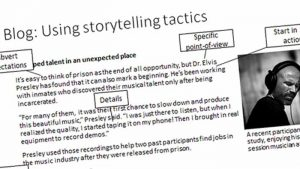 Blog: using storytelling tactics